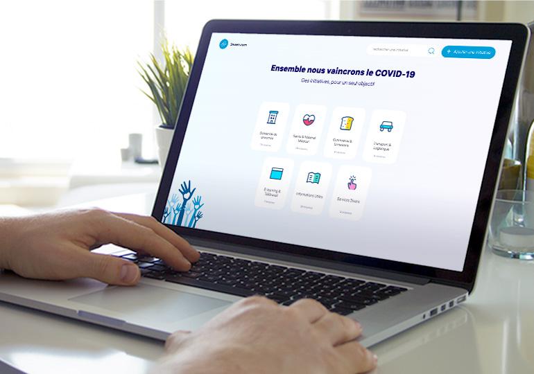 3awen.com  Une plateforme pour centraliser un ensemble d'initiatives