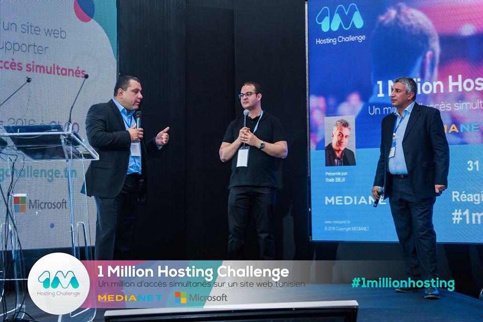 ''1 Million Hosting Challenge'' By MEDIANET & MICROSOFT