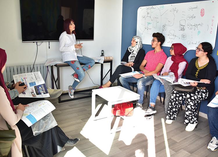 Visite du 2ième groupe des étudiants de Supcom