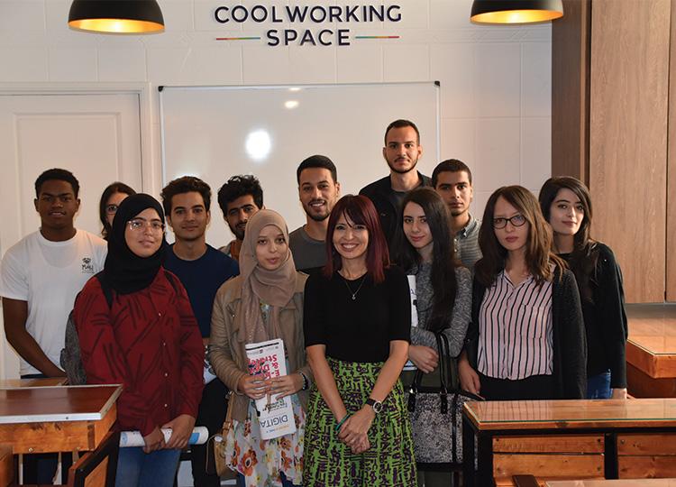 Visite du 1er groupe des étudiants de Supcom