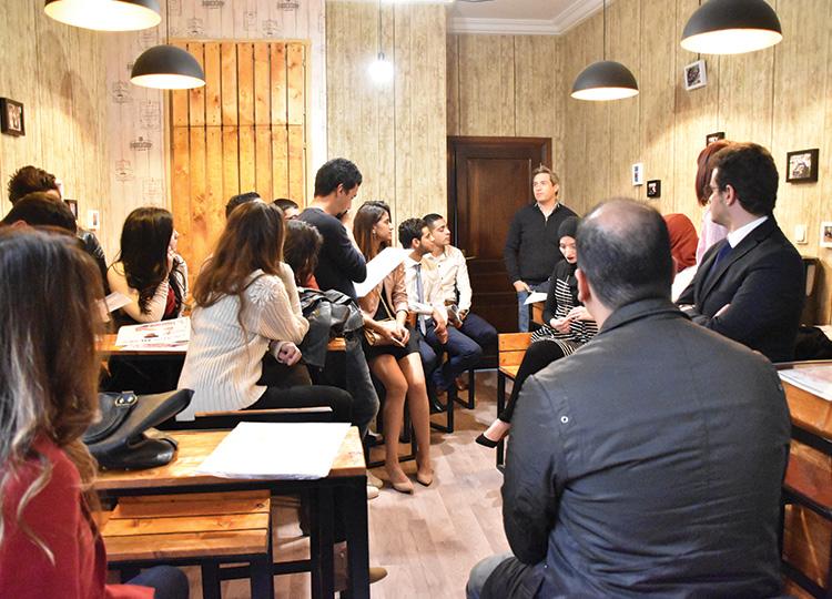 Visite des étudiants de l'université de SESAME à MEDIANET