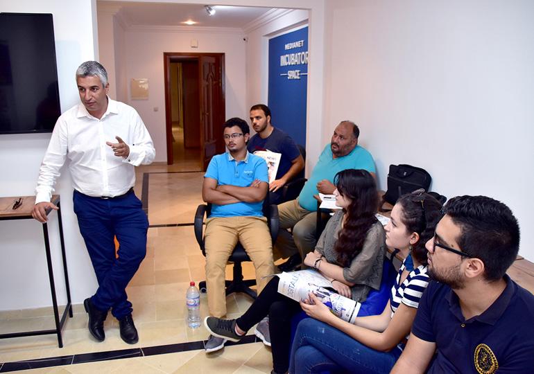 Visite des étudiants de SUPCOM à MEDIANET