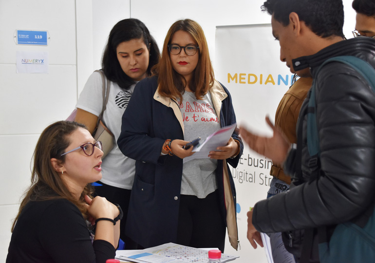 Rencontre étudiants, entreprises...Journée carrière à TEK-UP University