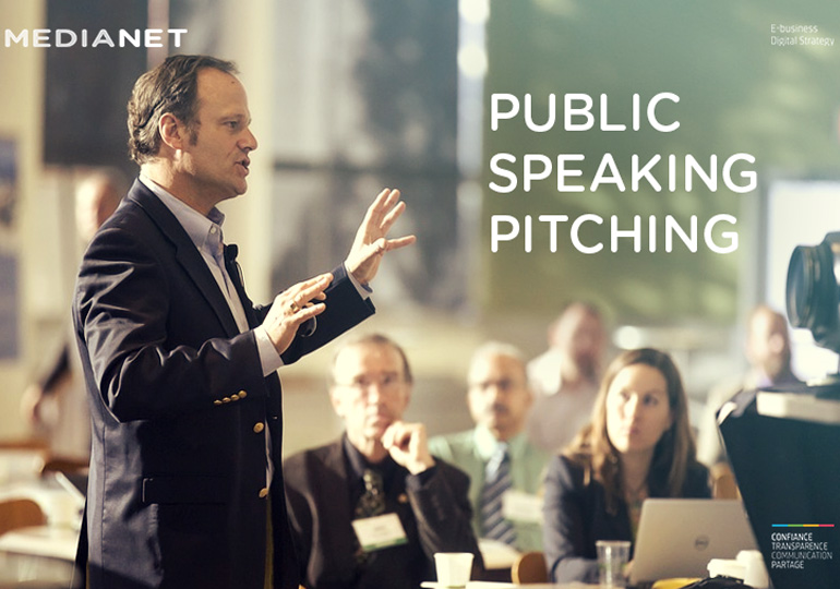 Public speaking pitching, du Dr. Saber Ben Abouda, ou comment prendre la parole en public… avec succès !