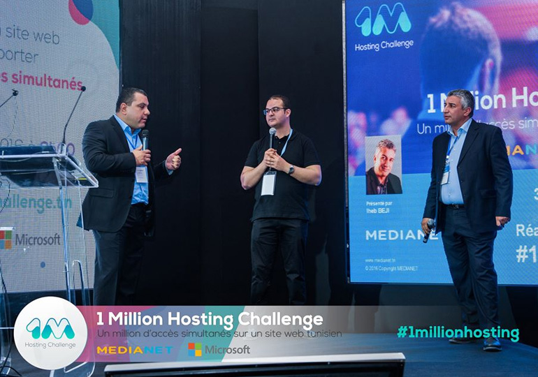 ''1 Million Hosting Challenge'' By MEDIANET & MICROSOFT