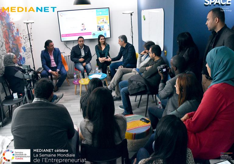 MEDIANET célèbre sa 1ère édition de la semaine mondiale de l'entrepreneuriat