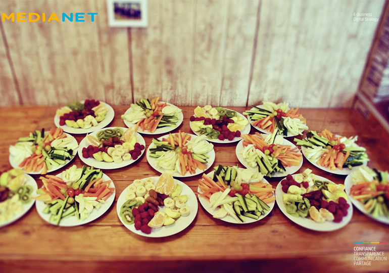 Les Medianautes optent pour des pauses fruits & légumes !