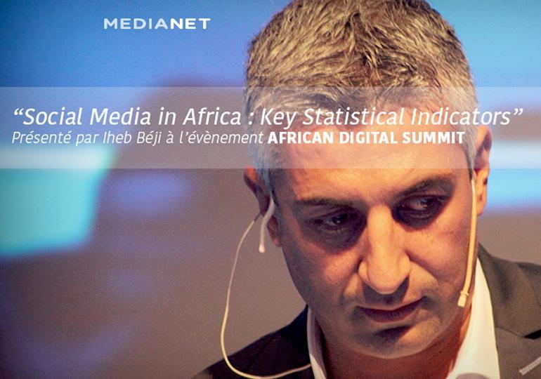 Chiffres clés sur les réseaux sociaux en Afrique : Facebook, Linkedin, Instagram) présentés à l'African Digital Summit 2016