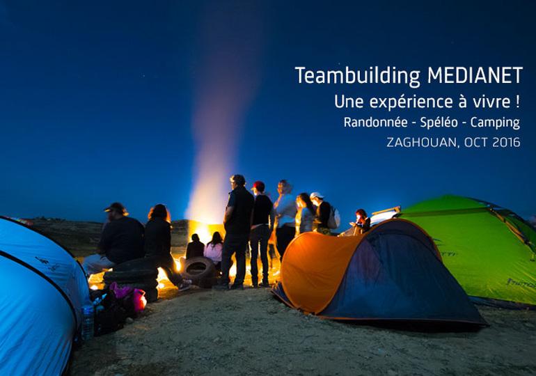Teambuilding MEDIANET Zaghouan