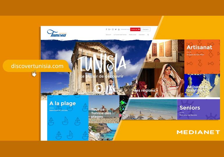 MEDIANET développe le portail du Tourisme Discover Tunisia
