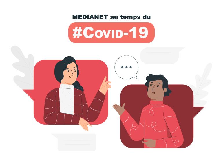 Quelle sont les mesures prises par MEDIANET au niveau de la gestion des ressources humaines par rapport au Covid-19 ?