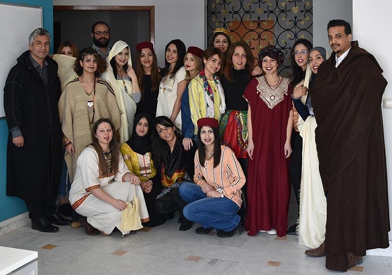 Journée nationale de l'habit traditionnel à MEDIANET