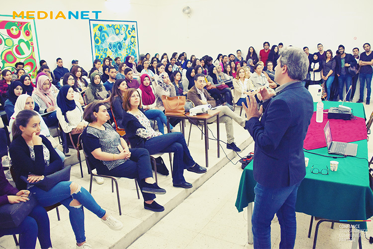 Intervention de Akram Béji Deputy CEO MEDIANET à l'ISET Charguia