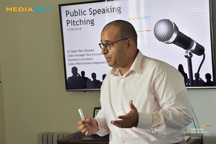 Formation sur la prise de parole en public