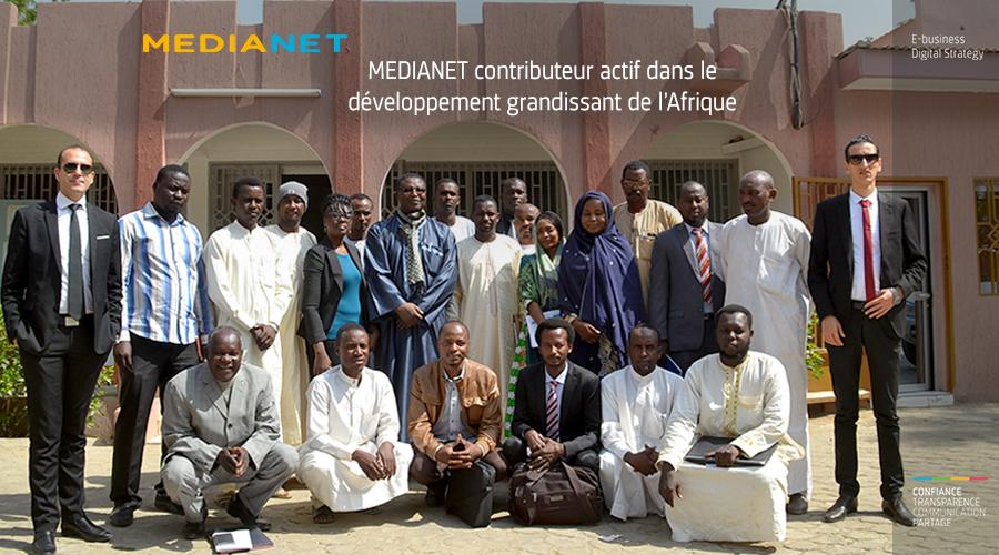 MEDIANET en Afrique...une nouvelle expérience réussie au Tchad