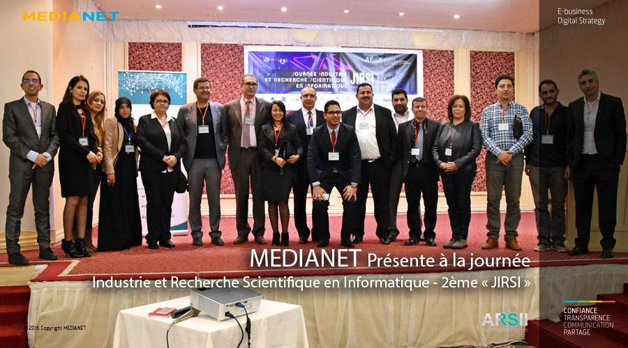 MEDIANET participe à la Journée Industrie et Recherche Scientifique en Informatique – 2éme « JIRSI »
