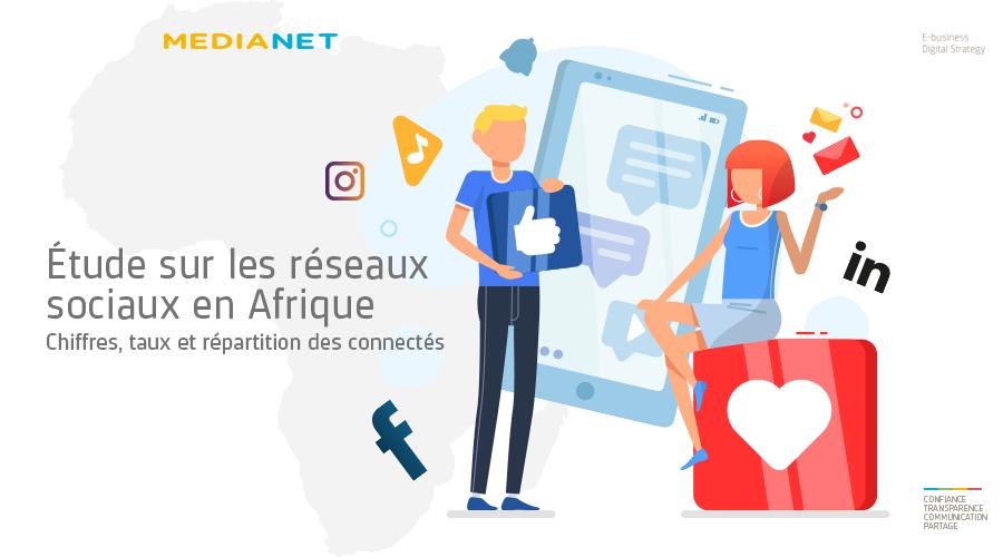 Étude sur les réseaux sociaux en Afrique : chiffres clés sur les connectés Facebook, Instagram et LinkedIn