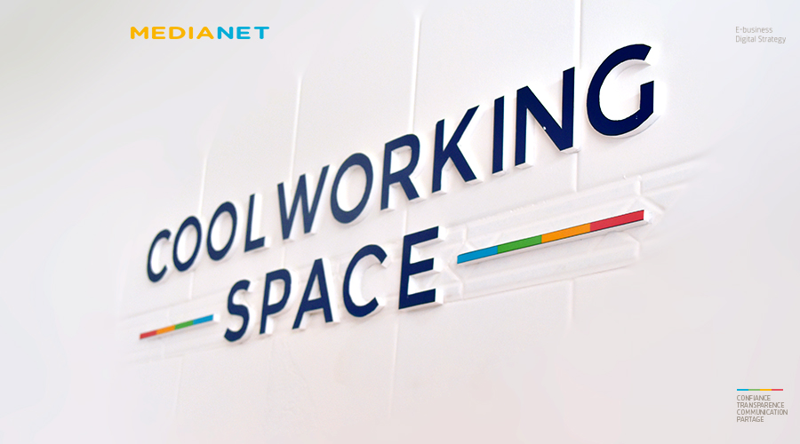 Ouverture du COOL WORKING SPACE, une extension du COWORKING SPACE de MEDIANET