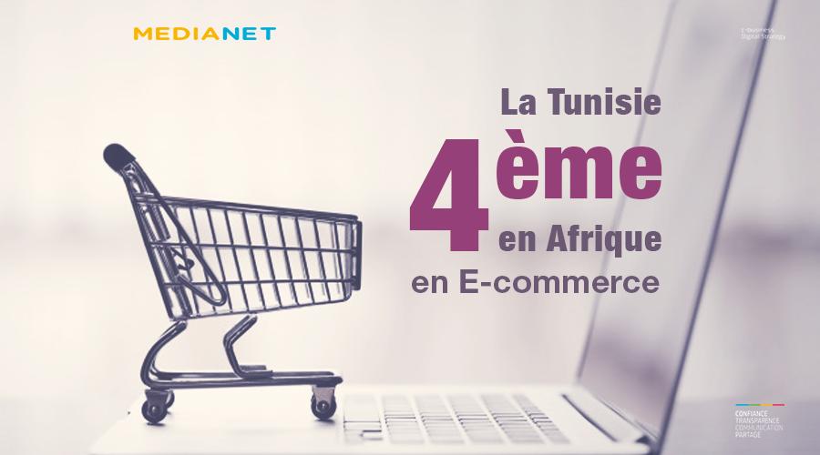 La Tunisie 4ème position en Afrique en E-commerce