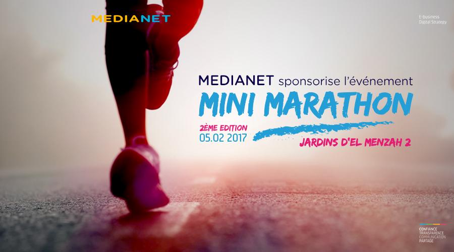 MEDIANET sponsorise l'événement ''Le Mini Marathon''