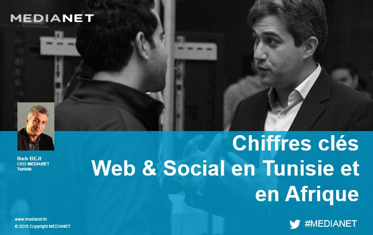 Chiffres clés Web et Social en Tunisie et en Afrique