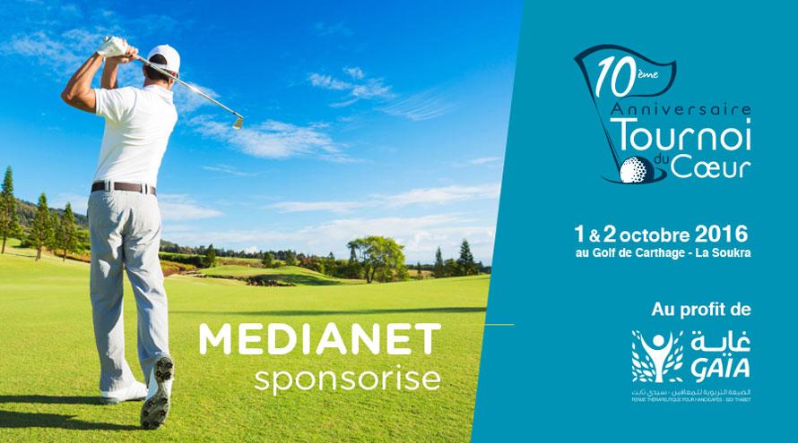 MEDIANET sponsorise le 10éme Tournoi du cœur organisé par l'association Gaia ''la Ferme Thérapeutique pour handicapé''