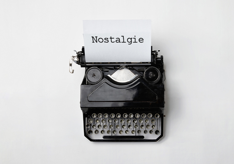 +88% de mots-clés liés à la nostalgie ont été utilisés sur la toile en 2020 !