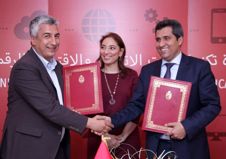 Signature d'une convention de partenariat avec Smart Tunisia